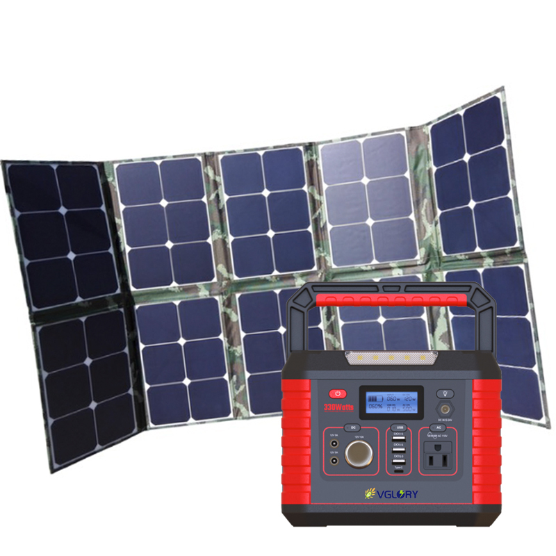 For Energy Generator Storage Small Direct Sale 500w 1000w Rechargeable Household Home Portable Solar System