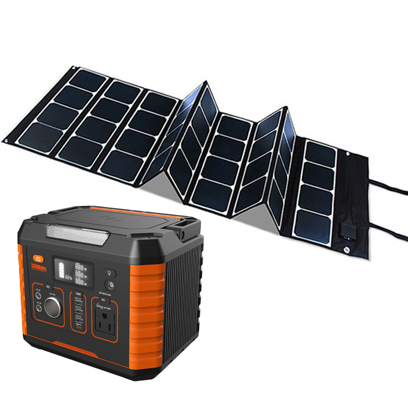 Small Dc Electric 300w Portable Lithium Battery Mini Home Backup Ac Long Life 52000mah Power System