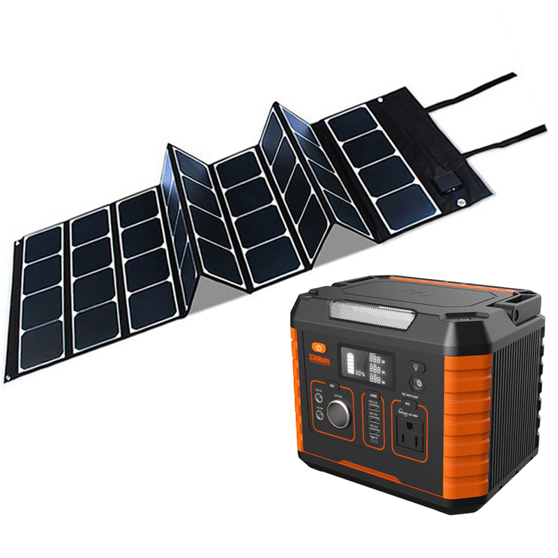 Tools Portable Lithium Battery Storage Power System For Televisions 500w 1000w Solar Energy Sysems
