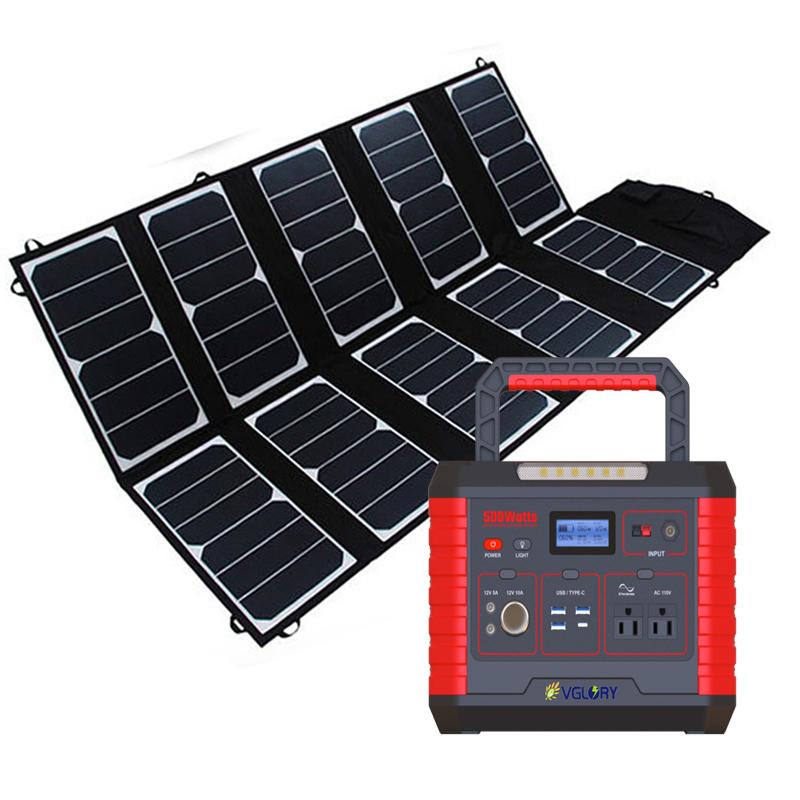 For Cctv Fast Energy Kit Power Box 52000mah Charging Station 200w 300w Large Solar Kits Battery Banks
