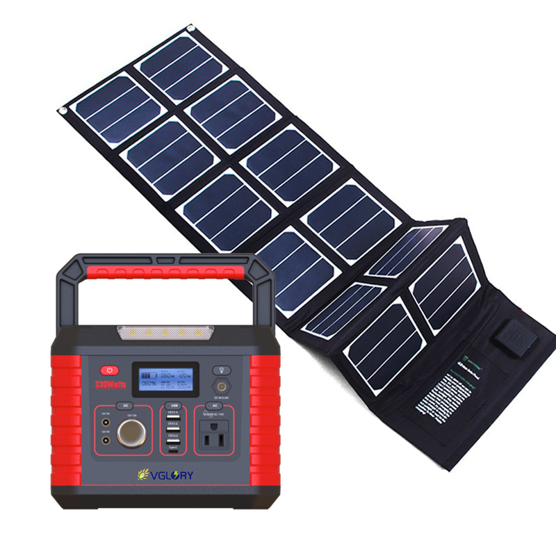 Radio Portable Pv Mppt System 300w 200w Multi-function For Printer Home Solar Energy Systems Power