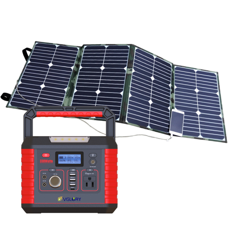 Products 200w 300wPower Home New-solar Energy Systems Mini Ups For Portable Mobile Battery Solar System