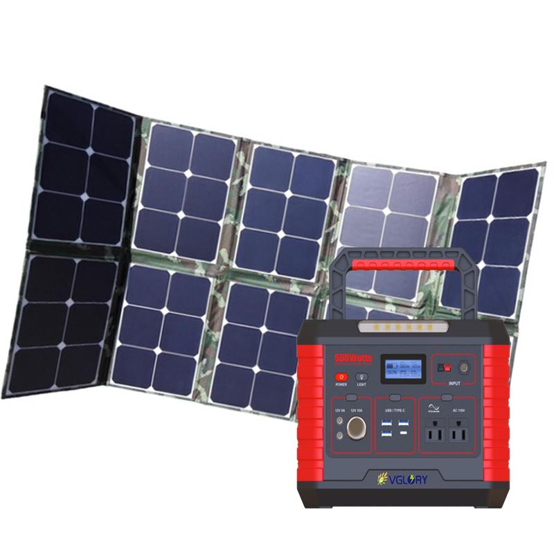 New Style Compact 300w 240v Popular Products 220v 2000w 1kw Off Grid 1000w Solar Power Generator