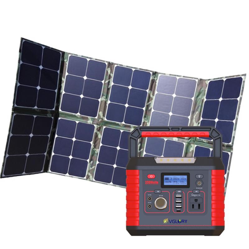 Home Emergency 500w 1000w Portable Generators Emergencies Powered Generator D J I Solar Power Plant For Drones