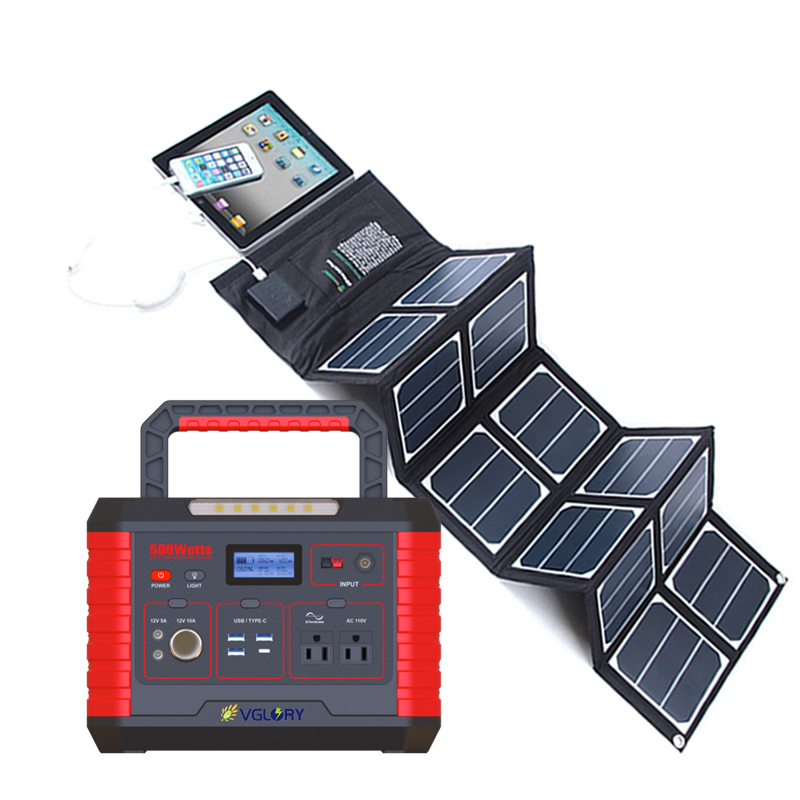 Power Mini Emergency Energy Backup Storage Small Direct Sale Household Home Portable Solar System