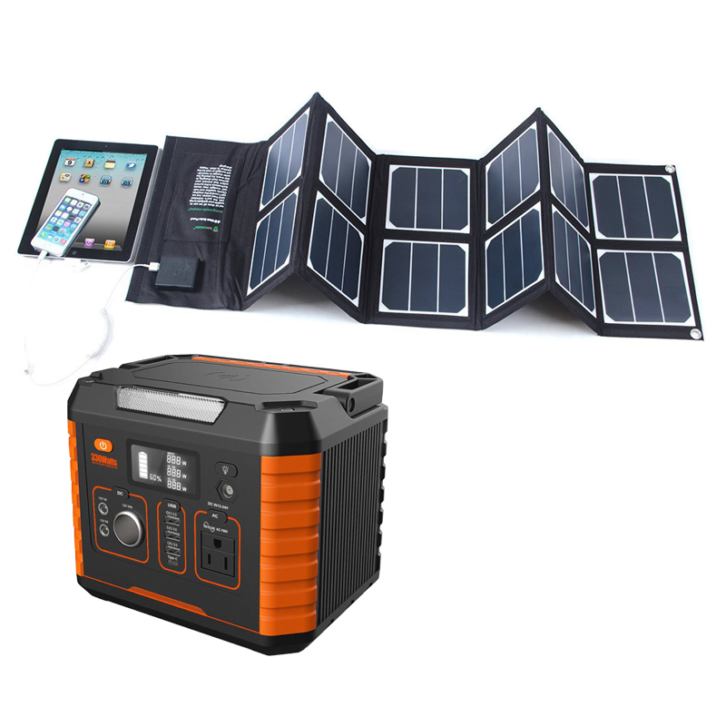 Supplies 273000mah 1000w Home Systems Power System 500 Fast Charger Station Solar Generator Sg1210w