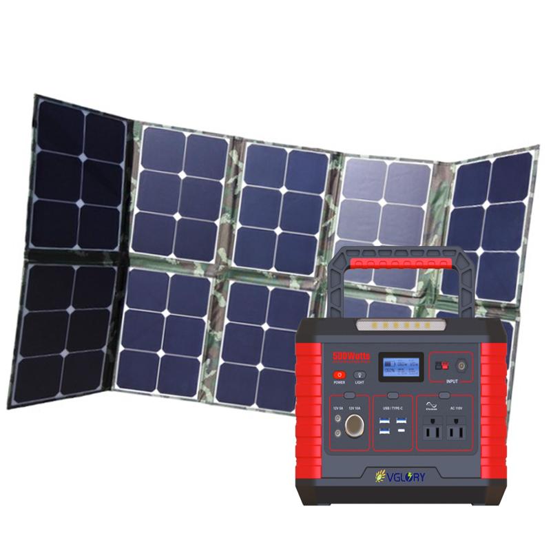 Multifunction Powered Home Application 500w 1kw Portable 1800w Generator 1500w Solar Power Supply 12v