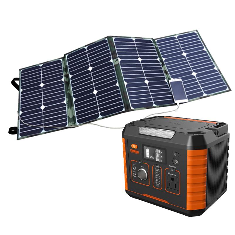 500w 1000watt Portable 1000w General Motors Production Solar Mobile Ac Dc Battery Powered System