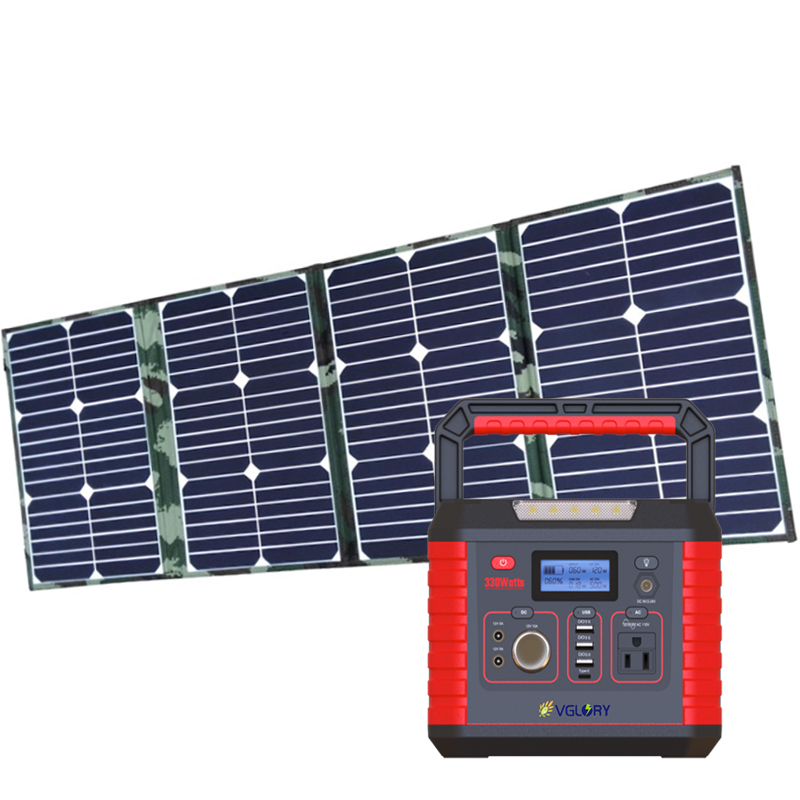 300w 500w Mini portable Module solar power system