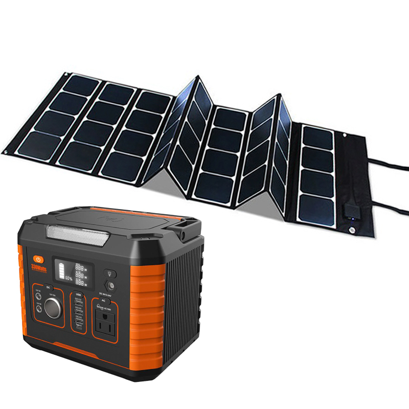 Station 300w 200w Supply With Consumer Electronics Kits Mobile Generator 52000mah Emergency Solar Kit