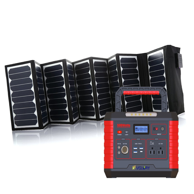 220v Portable Laptop Ups Cctv Battery Generator 1kw Power System With Lithium Solar House Batteries
