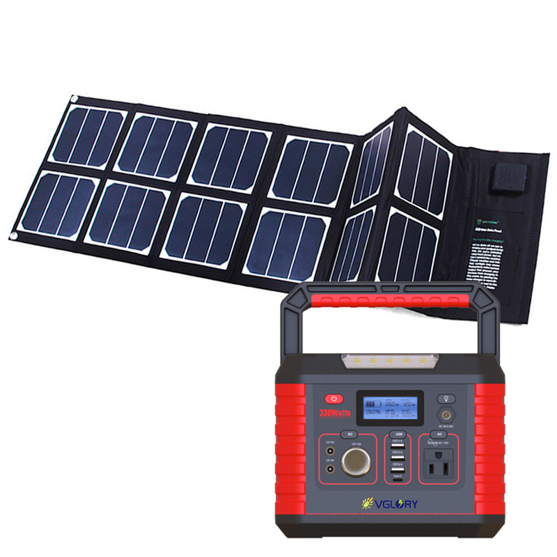 12v Generator 110v Off Grid Home Energy System 2020 Professional Solar Portable Power Station 1000w