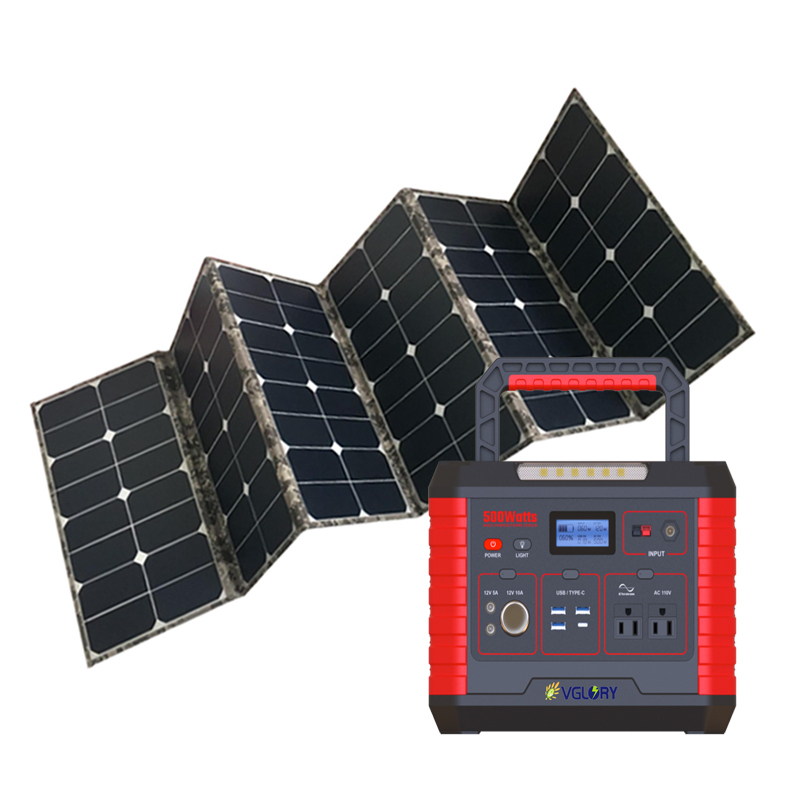 High Efficiency System Portable Commercial Panel Kits New Style 1000w Solar Power Systems Inverters