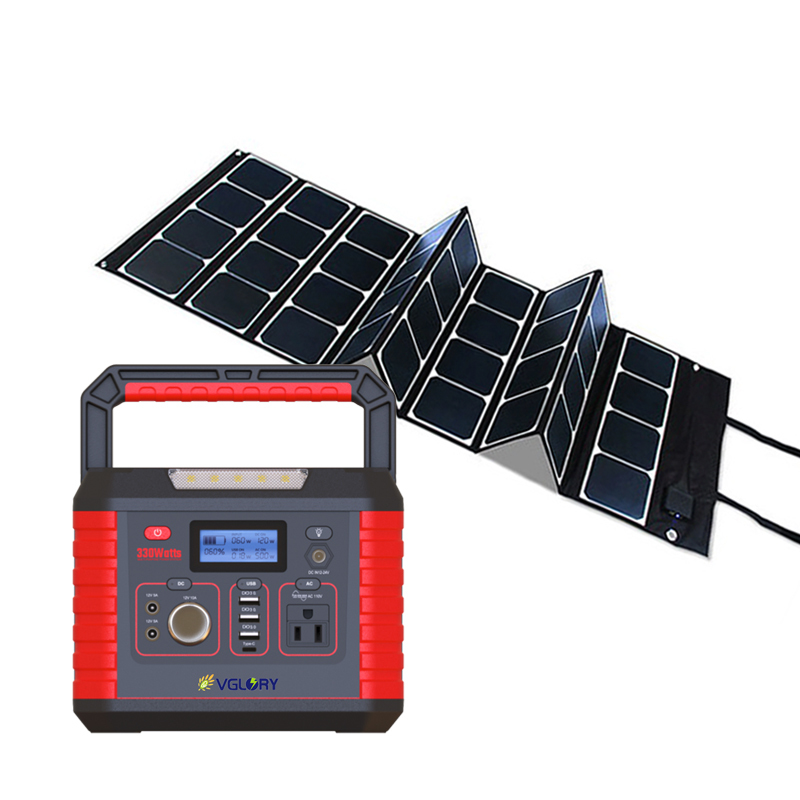 Phones Outdoor All In One Off-grid New Mobile Lighting 200w 300w Whole House Mini Home Solar Power System