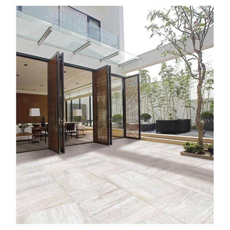 Large size exterior courtyard clay floor tile