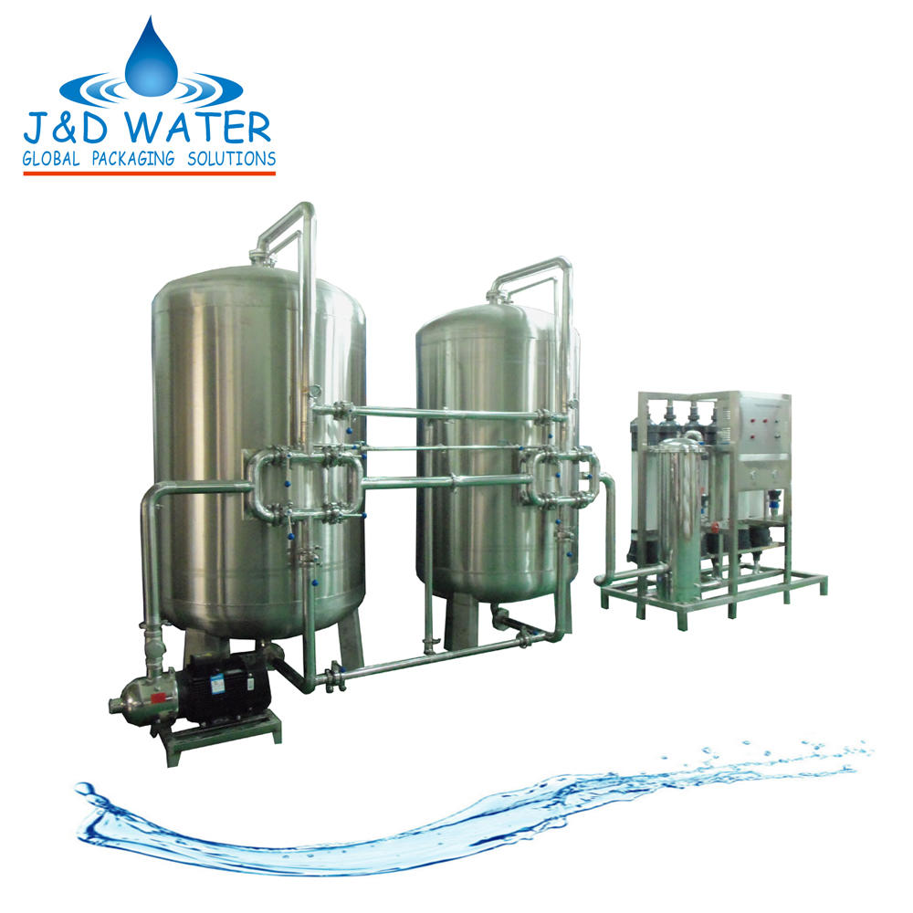 Industrial Mineral Water Purifier Ultrafiltration Machine