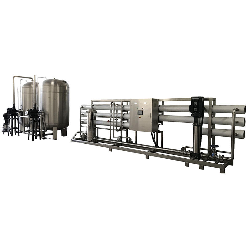 Reverse Osmosis RO Water Treatment Machine Equipment For Mineral Water Stainless Steel Tank
