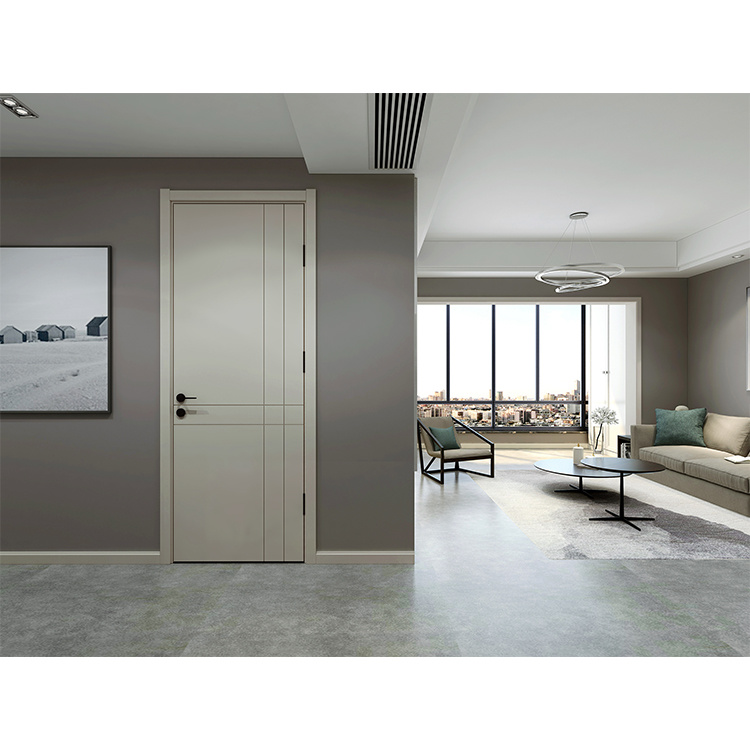 Wood Walnut Modern Different Design Solid Door Interior Sliding Graphic Design Hotel Push and Pull Polymer Finished 1 YEAR