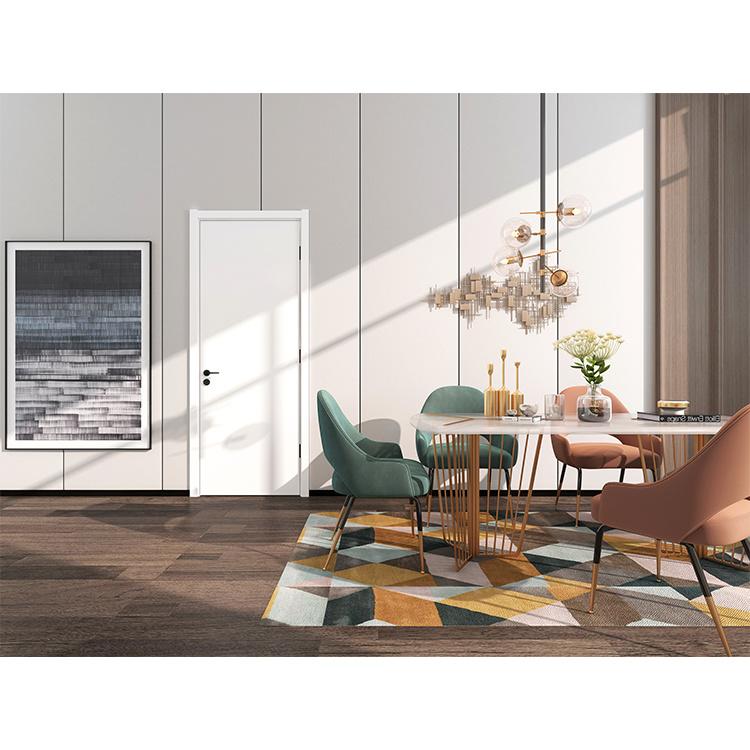 best price modern door manufacturer soundproof interior door with aluminium door handle