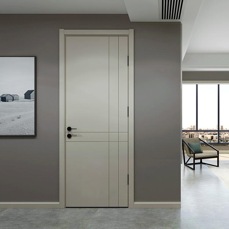Luxury Solid Teak Wood Single Design Wooden Master Bedroom Door Design For Living Room