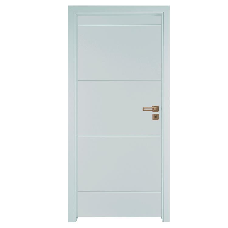 Moden Solid wood interior doors primed wood home interior door from China Suppliers