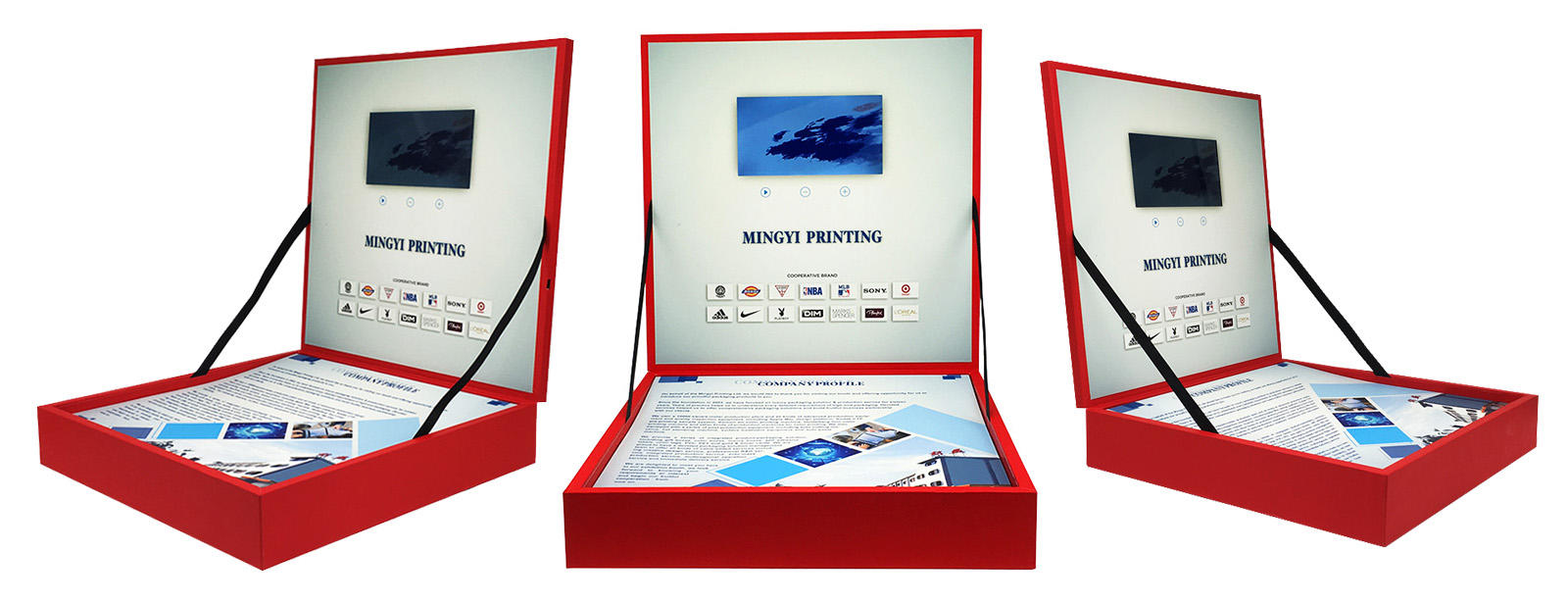 Celebrates VIP Luxury Souvenir Gift Box With LCD Screen