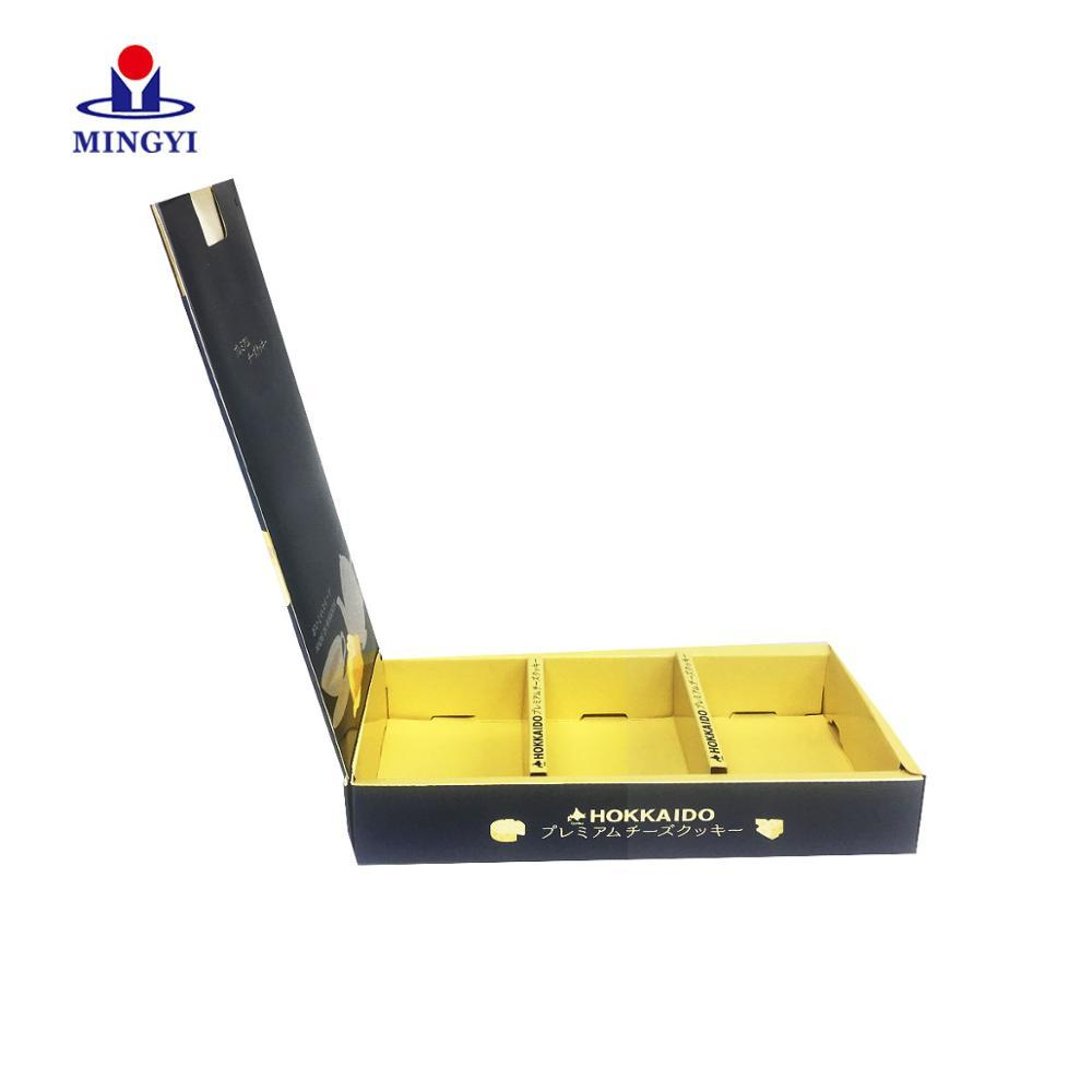 Custom Gold Foil Paper Food Packaging luxury chocolate box christmas candy corrugated cardboard carton gift box