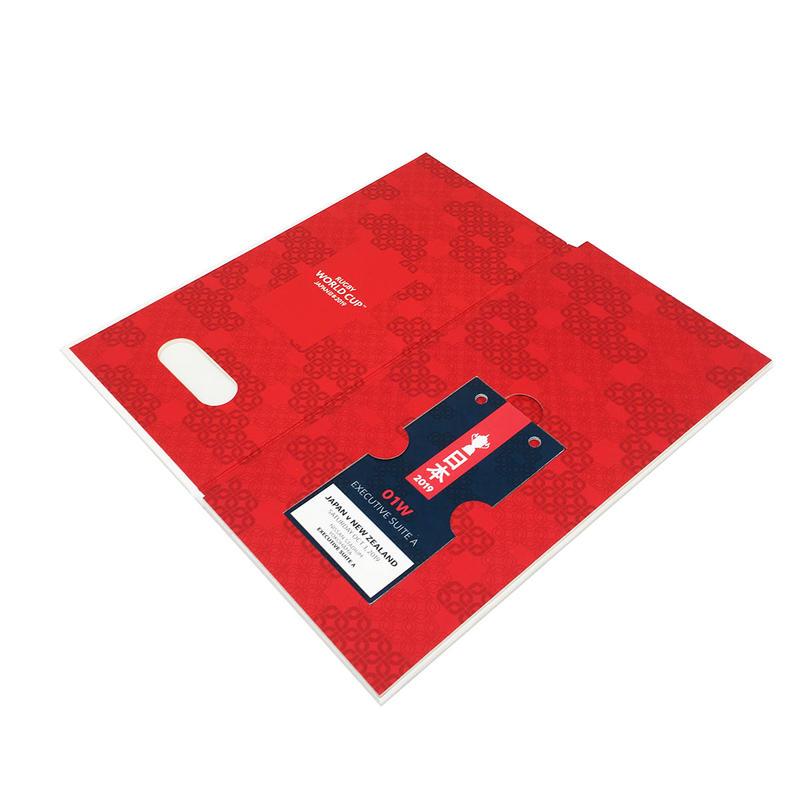 VIP Card Packaging Box Custom Rigid Book Shaped Business Credit Weddinginvitation card packing Box Cardboard Paper