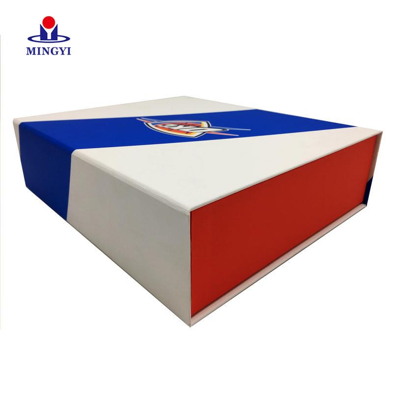 Premium Flat Pack Rigid Cardboard Bespoke Gift Packaging Magnetic Closure Luxury Folding Box