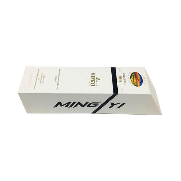 Gift Packaging Boxes Paper Cardboard Bottle Bags Glass Red Carrier Carton for Wine Custom Corrugated Protector Rigid Wine Box