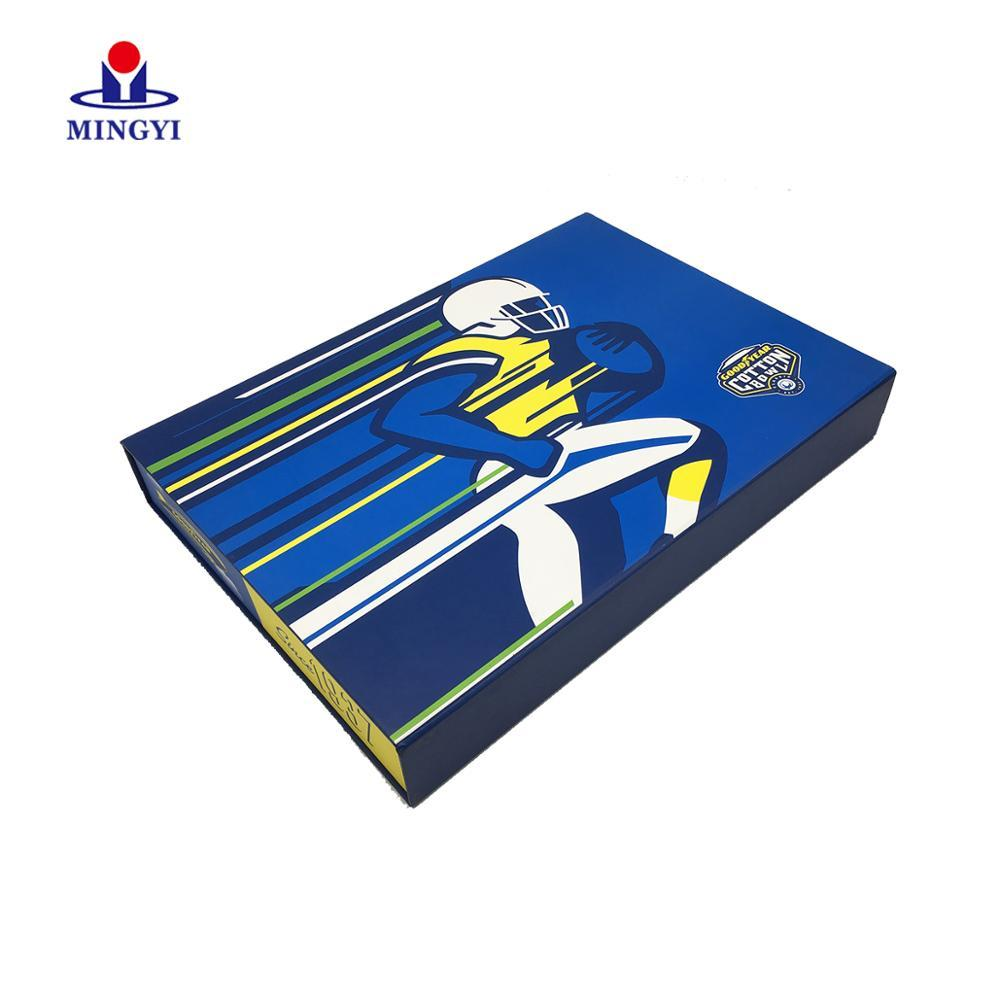 Fashion Luxury Gift Paper Box For Garments circle gift Folding Clothing Boxes Ming yiPackaging