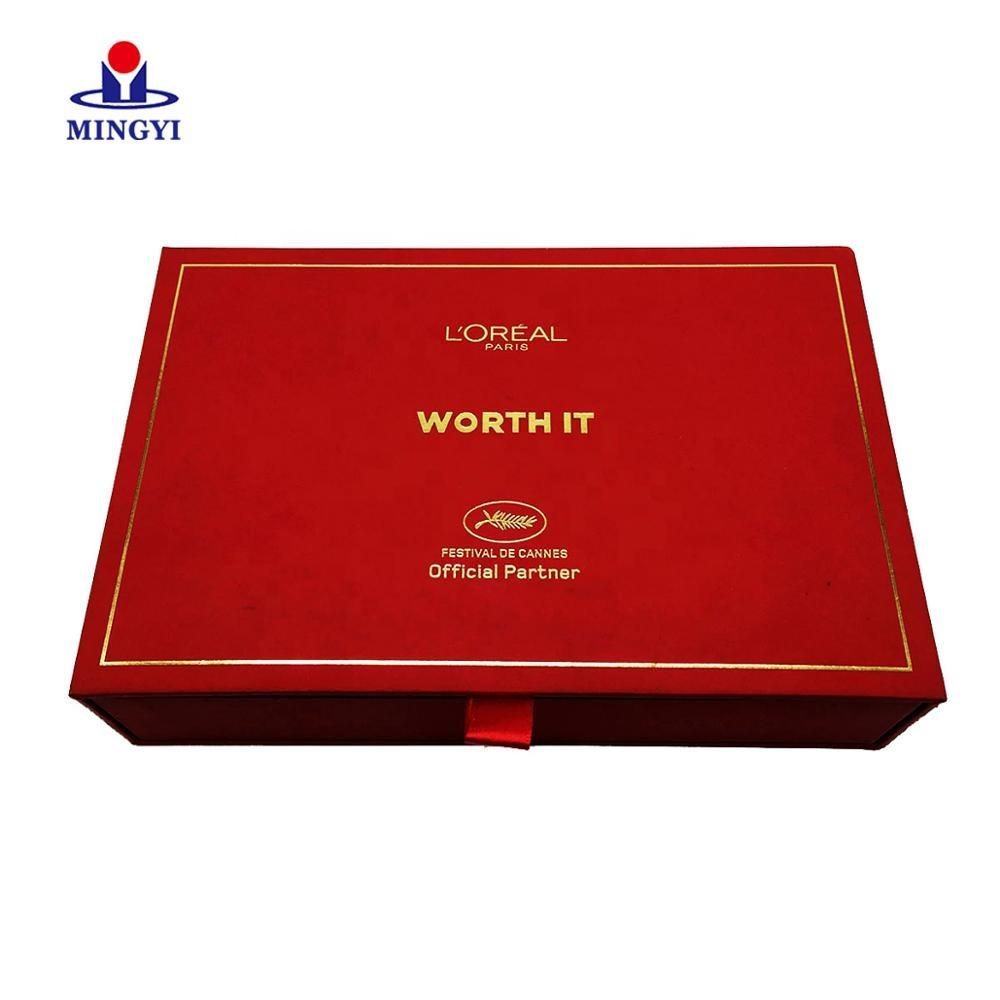 Beauty Packaging Case Storage Box Paper Boxes Luxury Eyeshadow Palette Makeup White Label Tube Private Cosmetics