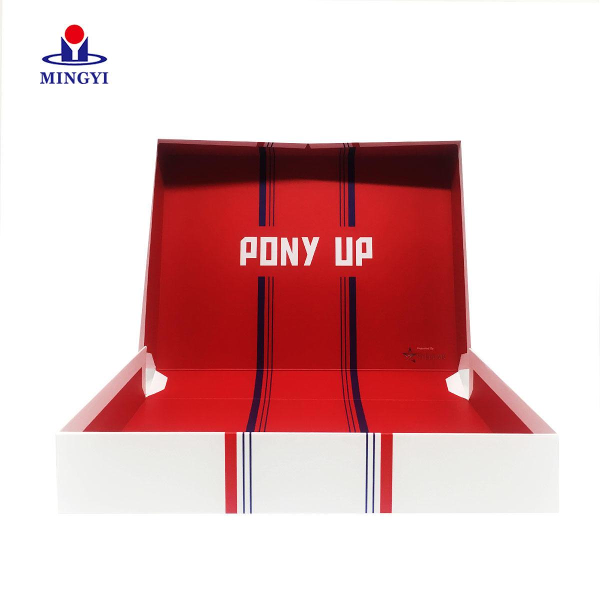 Luxury Customized Logo and Silk Ribbon Paper FoldablePackaging Box