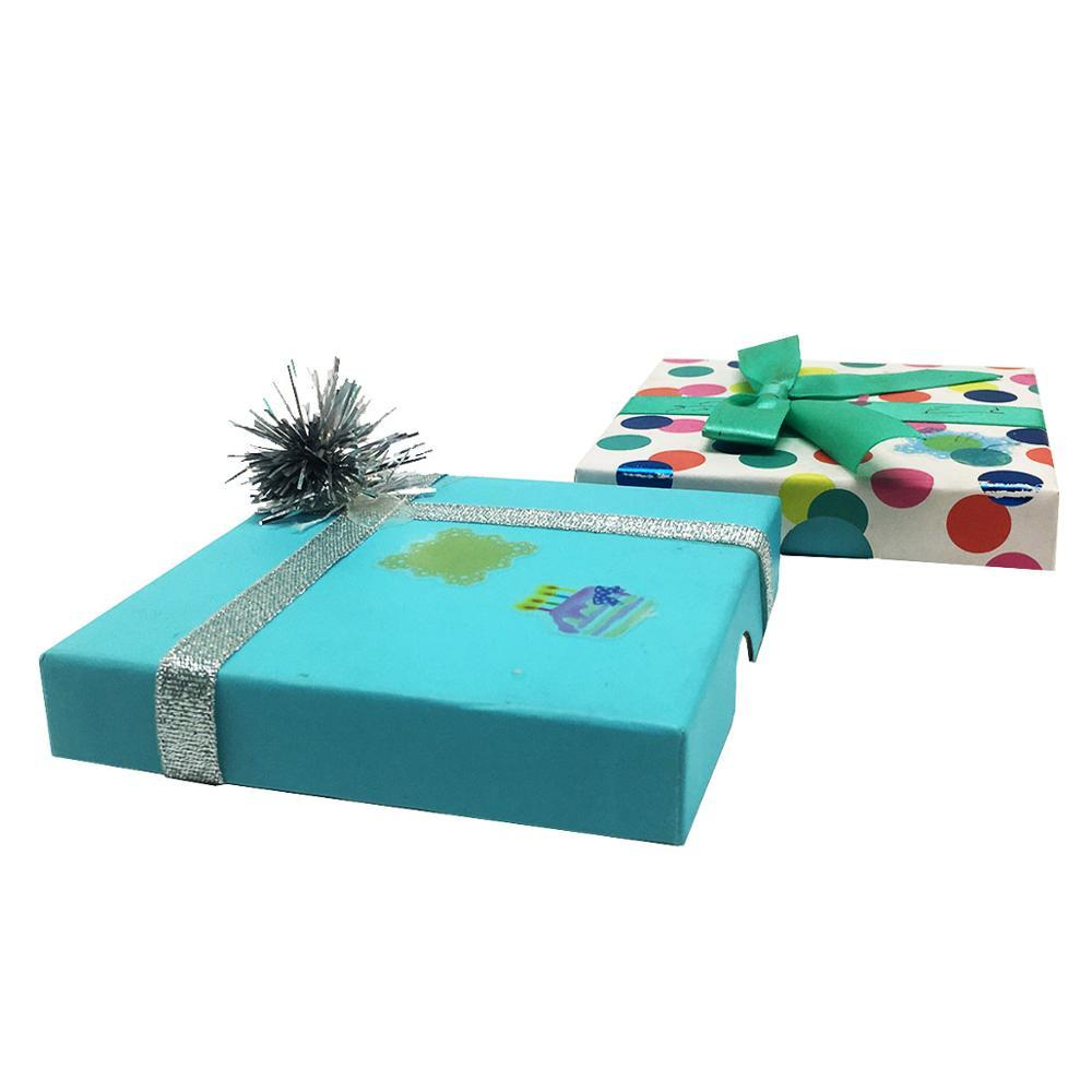 Eco Friendly Packaging Lovely for Candy Cardboard Chocolate Boxes Pastry Wedding Favors Halloween Christmas Candy Gift Box