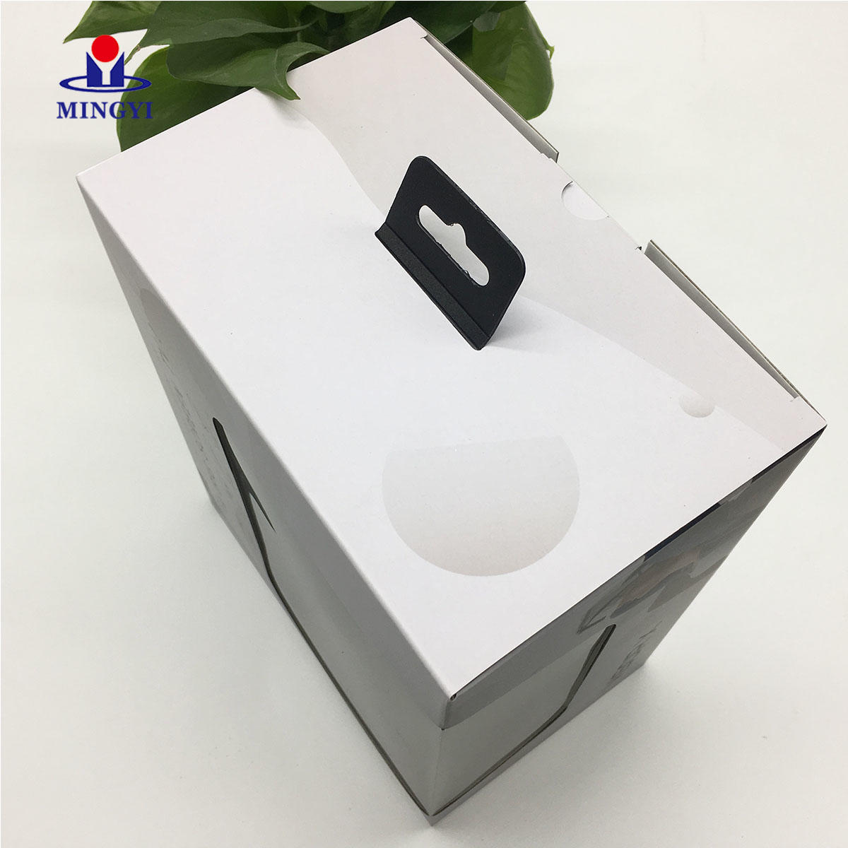 Kraft Box Craft Gift Recycled for Flower Corrugated Black Luxury with Window Carton Manufacturer with Handle Cake Paper Boxes