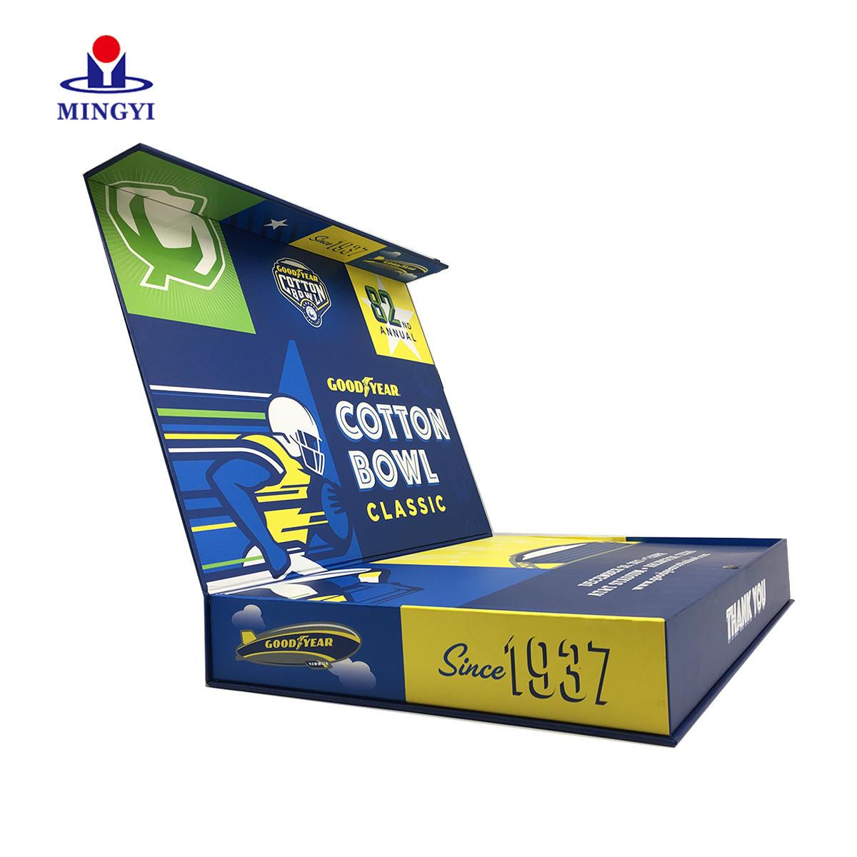 CUSTOM LUXURY PRINTED LAMINATION MAGNETIC DISPLAY REYCLED HANDMADE CARDBOARD GIFT PAPER BOX WHOLESALE
