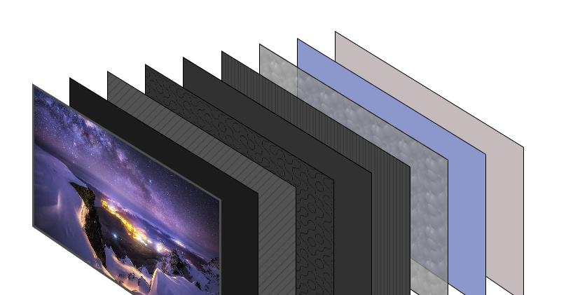 WANBAN LSU009 Anti-light curtain fabric black grid/laser TV short throw projector special screen-4K black grid anti-light
