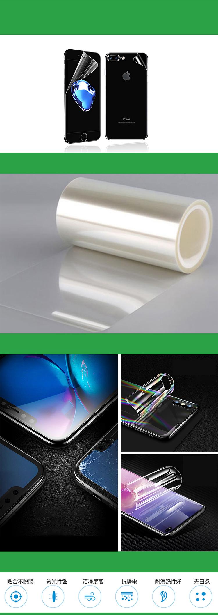 Wanban Mi 10 mobile phone screen protection film Scratch-resistant protective film for mobile phone screen