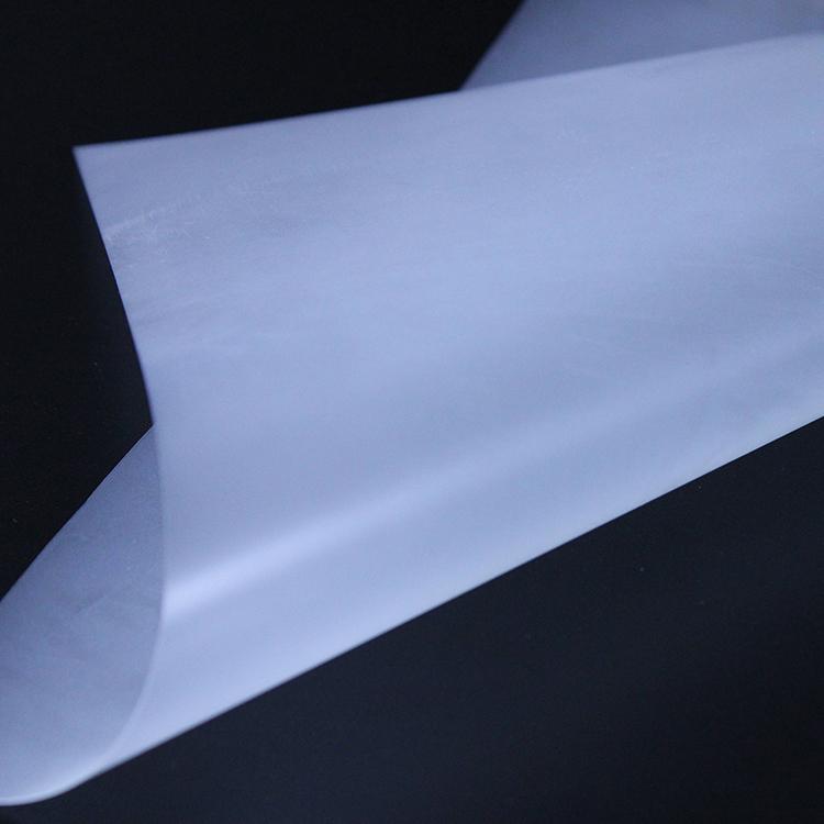 0.125mm WANBAN Customized Transparent PC Plastic Sheet Led Light Diffuser Film