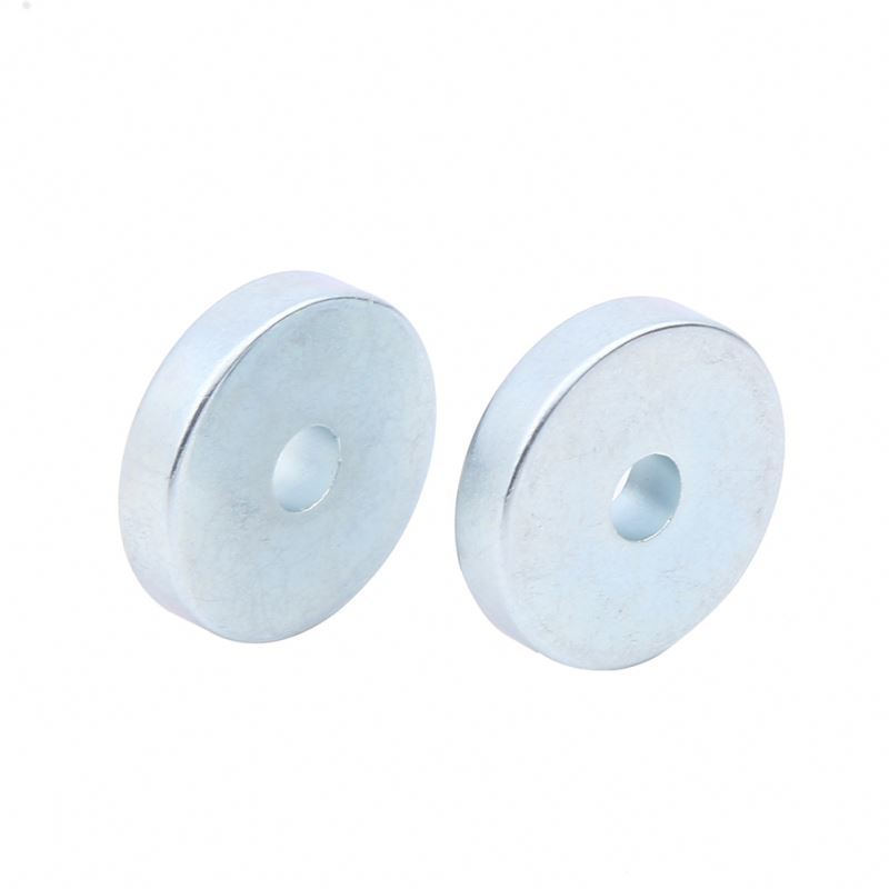 Super Strong Ndfeb Neodymium Composite Permanent Disc Shape Magnet Round