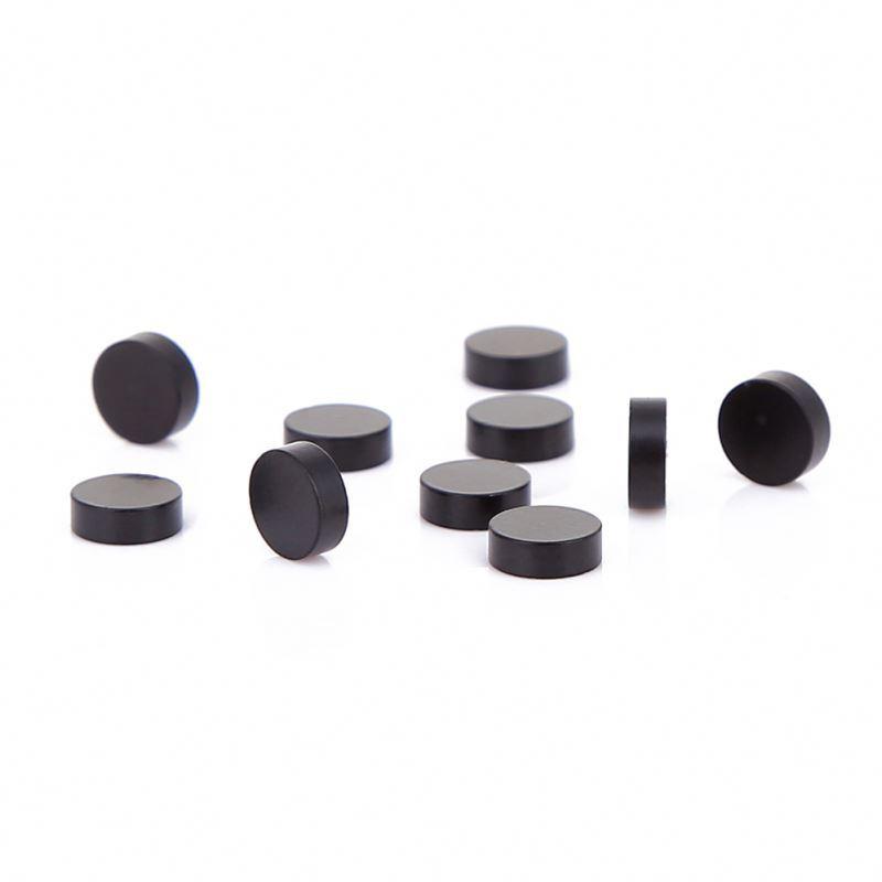Nicklei ZnicEpoxy Black CoatedN52 Neodymium Magnet Disk Sintered Ndfeb Disc
