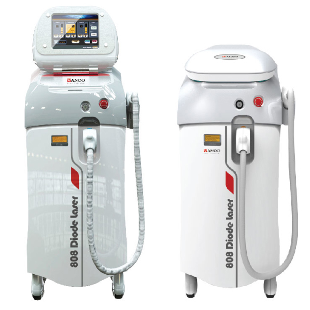 Vertical 808nm diode laser / diode laser hair removal / hair removal speed 808 vanoo laser