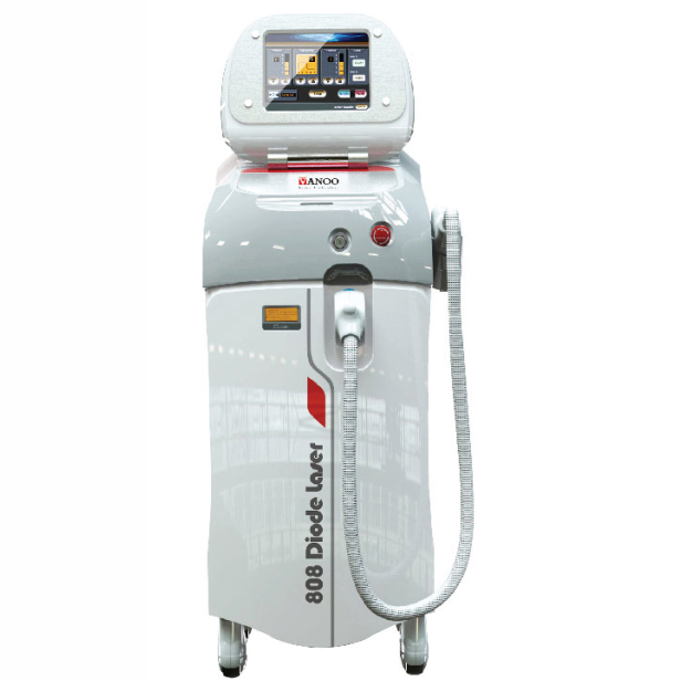 Big spot size !! 808nm Diode Laser permanent Fast hair removal depilation laser from Shanghai Vanoo