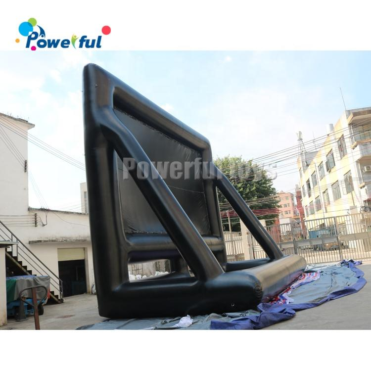 Outdoor inflatable movie theater projector screen for sale