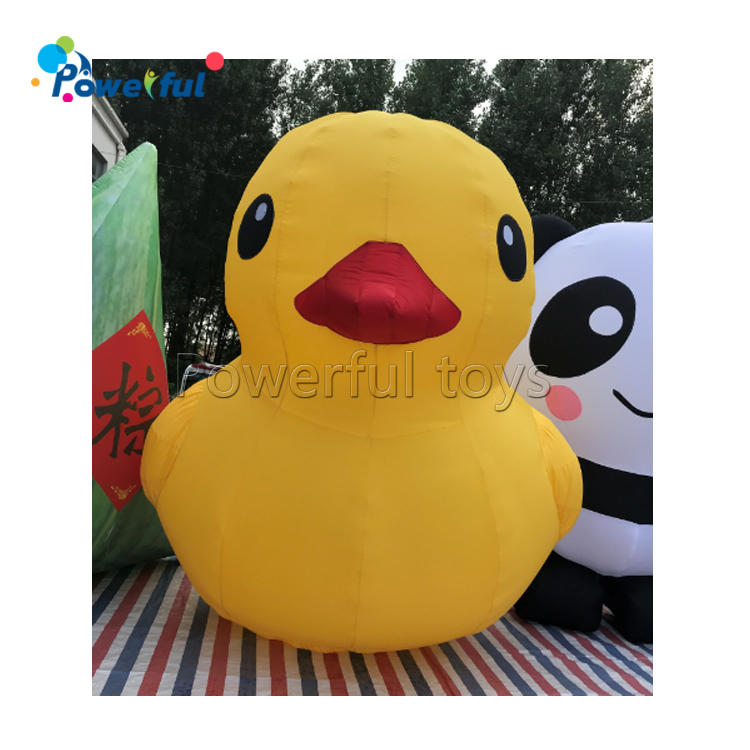 Floating Yellow Duck Giant Inflatable Duck For Swimming Pool