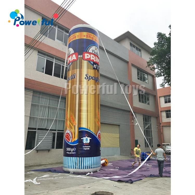 Outdoor commercial inflatable advertising large standing model