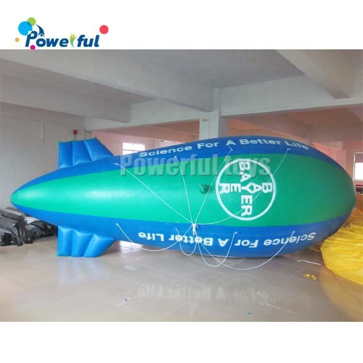 New Advertising Inflatable PVC Blimp / Airship / Airplane / Helium Balloon / Advertising inflatables