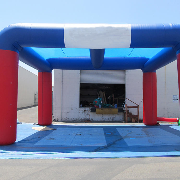 Custom made inflatable display spider tent, inflatable car garage tent structure for sale