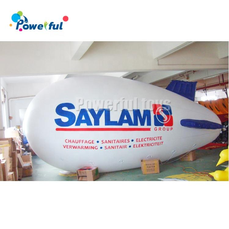 Cheap customized size inflatable helium blimp inflatable airship balloon for decoration