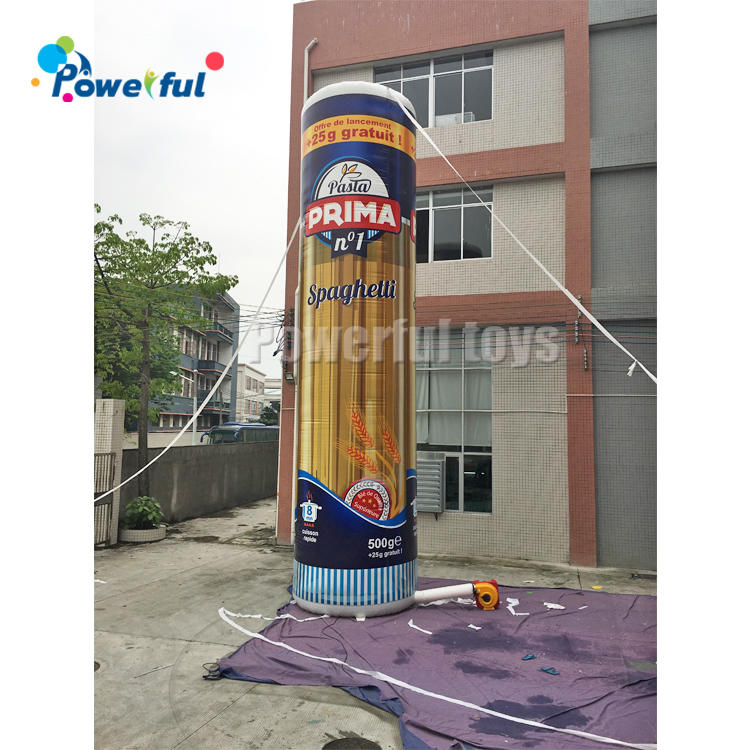 CustomizedOutdoor Decoration Inflatable FoodModel For Advertising